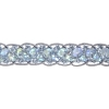 Sequin 6mm Round Trim Silver Hologram